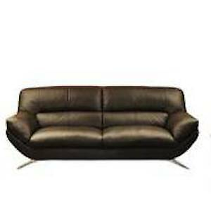 Leather Loveseat / Sofa