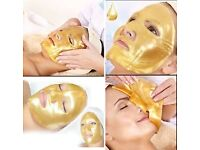 24 CAROT FULL GOLD FACE MASK - GREAT FOR HOLIDAYS!