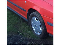 Vauxhall gsi cavalier slab alloys wheels