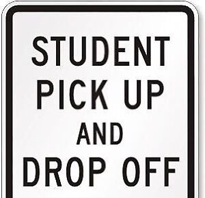 Student pick and drop off