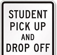 Student pick up and drop off