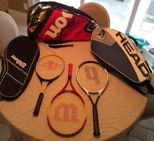 TENNIS RACQUETS FROM 20.00 EACH