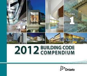 2012 ONTARIO BUILDING CODE SET