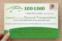 Eco-Friendly Niagara Area Transportation Taxi/Limo