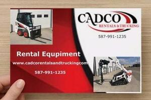 Get your projects done today. Rent your equipment today and we will deliver it to your door for free.