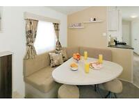 Pure Haven, 2 bedroom caravan with extensive decking for sale