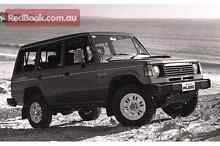Mitsubishi Pajero 89 turbo diesel 4x4 man lwb long reg Gladstone Park Hume Area Preview