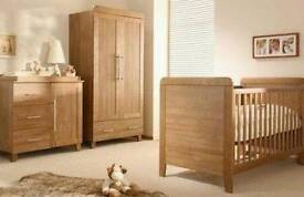 Baby toddler nursery bedroom furniture