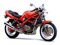 SUZUKI GSF 400 RED 1991