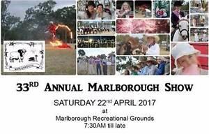 Marlborough Show 22 April Emu Park Yeppoon Area Preview