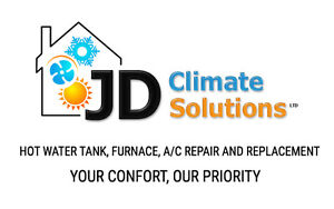 Hot water tank,furnace and A/C reliable repair or replacement