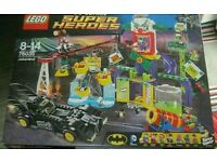 Large lego sets... Joker, batman, star wars city. Brand new