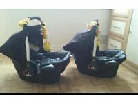 2 x car seats for sale