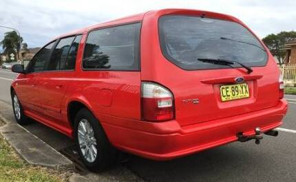 2007 FORD FALCON FUTURA WAGON,(FACTORY STRIGHT GAS),4 MONTH REGO, Hinchinbrook Liverpool Area Preview