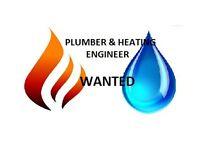 FULL TIME Plumber & Heating Engineer
