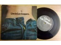 LEE COOPERS PROMOTIONAL 45RPM VINYL DISC