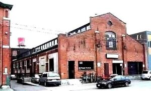 Loft Style Commercial Space Available In Liberty Village