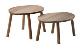 Nest of coffee tables, set of 2