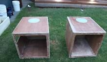 2 x Bog corders,Sand smooth & Paint boat storage boxes Greenacre Bankstown Area Preview