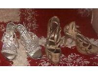 Womens heeled shoes bundle