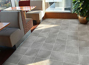12x12 Silver Grey Glazed Porcelain tile