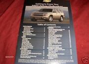 2007 Tahoe Owners Manual