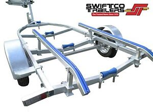 Swiftco 4 Metre Boat Trailer Skid Type Buy from under $3.50 a day Dandenong South Greater Dandenong Preview