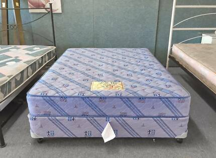 DELIVERY TODAY AUSTRALIAN MADE Double Ensemble bed & mattress