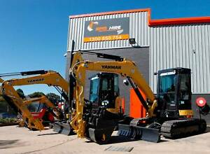EXCAVATOR DRY HIRE $250 DAY (INCL GST) BRAND NEW MACHINES Campbelltown Campbelltown Area Preview