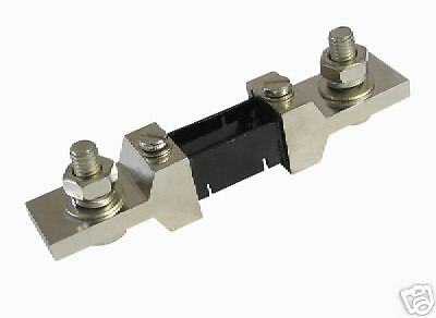 Dc 200a 75mv Current Shunt Good4 Digital Analog Meter