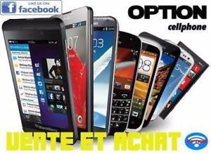 ***J'achete Vos Vieux Cellulaire PAYE CASH Fonctionnelle ou pas Option Cell Phone ****