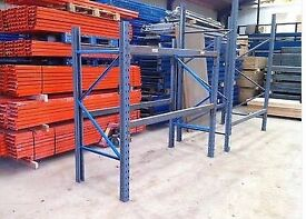 Dexion Speedlock Commercial Heavy Duty Industrial Warehouse Shelving Pallet Racking Units For Sale