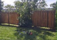 Ottawa Fence&Repairs (GET DONE BEFORE WINTER FOR BEST PRICE)