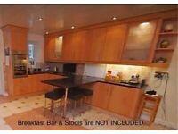 Full Oak Kitchen Units & Granite Worktops