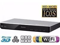 4K Upscaling Smart Blu-ray Player- Built-in WiFi & 3D - Panasonic DMP-BDT270E