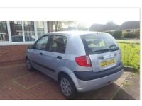 HYUNDAI GETZ 1.4 GSI 82,000 FULL SERVICE HISTORY & MOT DRIVES PERFECT VERY ECONOMICAL 45 MPG