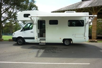 Automatic 4 Berth Motorhome Clyde Parramatta Area Preview