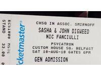 Sasha & John Digweed tickets