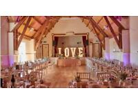 Wedding Decor Hire - love lights, sweet Cart, and lots more for Northamptonshire and Beyond