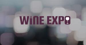 2 Hard Copy Tickets for Saturday Night Wine Expo Tasting