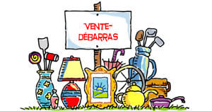 GROSSE Vente de garage / Vente de débarras / BIG Garage Sale