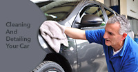 Cleaning And detailing cars