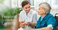 Hiring Personal Support Workers IMMEDIATLEY