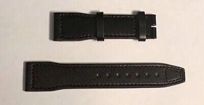 IwC Black Leather Santoni Strap - IWE06174 - Suits Pilot Watch IW377709