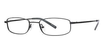 NEW Women's Frame Visions VI150 C03 Black glasses & case 0331
