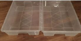 Under bed storage boxes from ikea