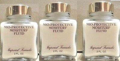 Protective Fluid Foundation (Lot of 3 IMPERIAL FORMULA BIO PROTECTIVE Moisture Fluid 2 fl oz. New No)