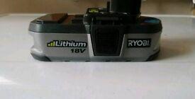 Ryobi BPL-1815 18v ONE+ 1.4Ah Lithium Battery