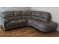 Stunning Taupe DFS Corner Settee/ Sofa - Must be uplifted by Thursday