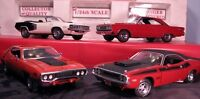 Mint-level Mopar diecast cars